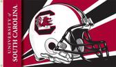 South Carolina Gamecocks 3 Ft. x 5 Ft. Flag w/Grommets - Helmet Design
