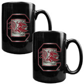 South Carolina Gamecocks 2pc Coffee Mug Set