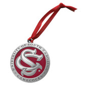 "South Carolina Gamecocks ""SC"" Logo Ornament"