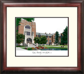 Purdue University Alumnus Framed Lithograph
