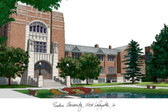 Purdue University Lithograph