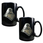 Purdue Boilermakers 2pc Coffee Mug Set