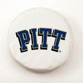 Pittsburgh Panthers White Tire Cover, Small