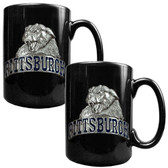 Pittsburgh Panthers 2pc Coffee Mug Set