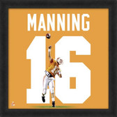 Peyton Manning Tennessee Volunteers 20x20 Framed Uniframe Jersey Photo