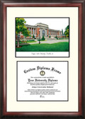 Oregon State University Scholar Framed Lithograph with Diploma