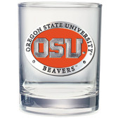 Oregon State Beavers Double Old Fashioned Glass Set