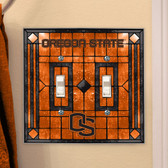 Oregon State Beavers Double Lightswitch Cover