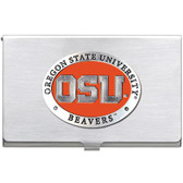 Oregon State Beavers Business Card Case Set