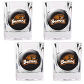 Oregon State Beavers 4pc Square Shot Glass Set