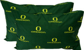 Oregon Printed Pillow Case - (Set of 2) - Solid