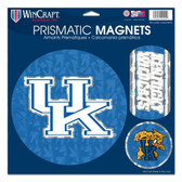 """Kentucky Wildcats Magnets - 11""""x11 Prismatic Sheet"""