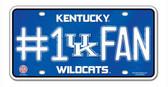 Kentucky Wildcats License Plate - #1 Fan