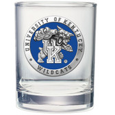 Kentucky Wildcats Double Old Fashioned Glass Set