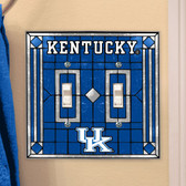 Kentucky Wildcats Double Lightswitch Cover