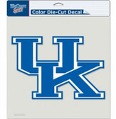 "Kentucky Wildcats Die-Cut Decal - 8""x8"" Color"