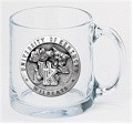 Kentucky Wildcats Clear Coffee Mug Set