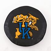 Kentucky Wildcats Black Tire Cover, Small TCBKKentuckyCatSM