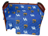 Kentucky Wildcats Baby Crib Set
