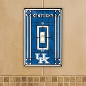 Kentucky Wildcats Art Glass Switch Cover