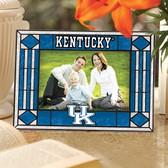 Kentucky Wildcats Art Glass Horizontal Picture Frame
