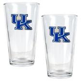 Kentucky Wildcats 2pc Pint Ale Glass Set