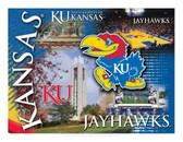 Kansas Wildcats Printed Canvas