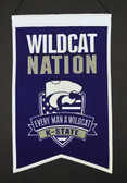 Kansas State Wildcats Wool Nations Banner