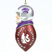 Kansas State Wildcats Tackler Ornament