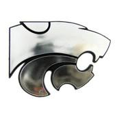 Kansas State Wildcats Silver Auto Emblem