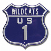 Kansas State Wildcats Route 1 Sign