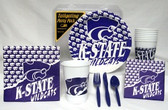 Kansas State Wildcats Party Supplies Pack #1