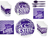 Kansas State Wildcats Party Supplies Pack #2