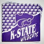 Kansas State Wildcats Lunch Napkins