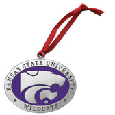 Kansas State Wildcats Logo Ornament