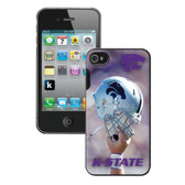 Kansas State Wildcats Helmet NCAA iPhone 4 Case