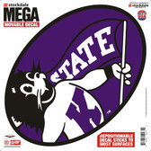 "Kansas State Wildcats Decal - 12""x12"" Mega"