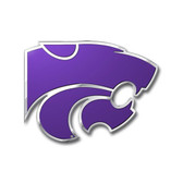 Kansas State Wildcats Color Auto Emblem - Die Cut