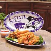 Kansas State Wildcats Ceramic Plate COL-KAS-587