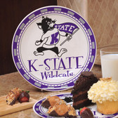 Kansas State Wildcats Ceramic Plate