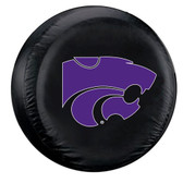 Kansas State Wildcats Black Spare Tire Cover