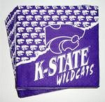 Kansas State Wildcats Beverage Napkins