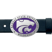 Kansas State Wildcats Belt Buckle