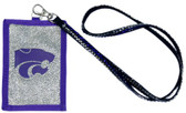 Kansas State Wildcats Beaded Lanyard Wallet