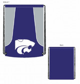 Kansas State Wildcats Backsack