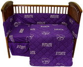 Kansas State Wildcats Baby Crib Set
