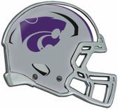 Kansas State Wildcats Auto Emblem - Helmet