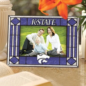Kansas State Wildcats Art Glass Horizontal Picture Frame