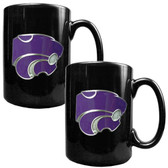 Kansas State Wildcats 2pc Coffee Mug Set