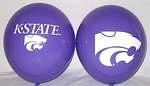 "Kansas State Wildcats 11"" Balloons"